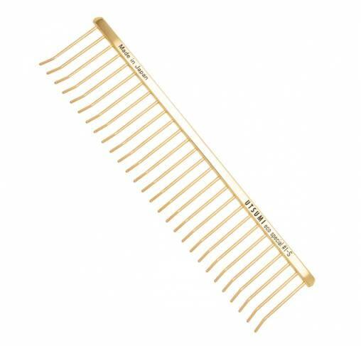 "UTSUMI - מסרק 19 ס""מ ECO Special Comb #1 - זהב"