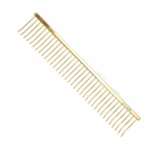 "UTSUMI - מסרק 24.5 ס""מ ECO Special Comb #1 - זהב"