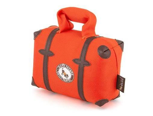 Pet Play - צעצוע בד בצורת תיק טיולים - ECO Play Globetrotter Collection Travel bag