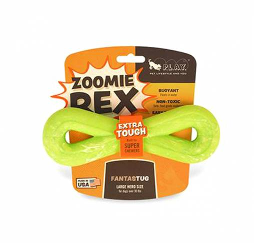 Pet Play - צעצוע משיכה אינפיניטי - ECO Play ZoomieRex FantasTug Infiniti