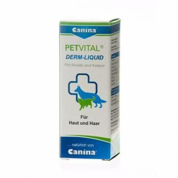 Canina  – תוסף נוזלי לטיפול בעיות בעור ובפרווה Skin Care Liquid