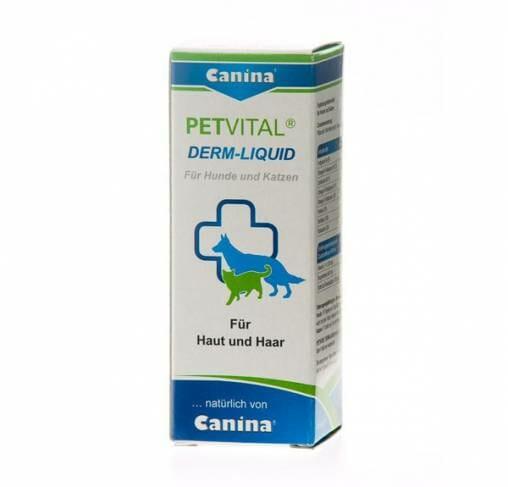 Canina  - תוסף נוזלי לטיפול בעיות בעור ובפרווה Skin Care Liquid