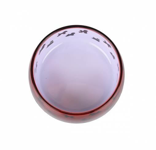 "Show Tech - קערה לאוכל / מים אנטיסליפ  - 12.3 ס""מ - 330 מ""ל - K-DESIGN - SMALL"