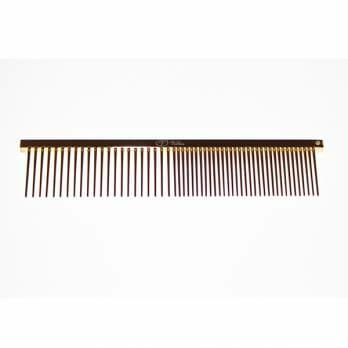 """Vellus – מסרק 11.5 ס""""מ 50/50 מצופה זהב 22 קראט לפנים ולגוף"""