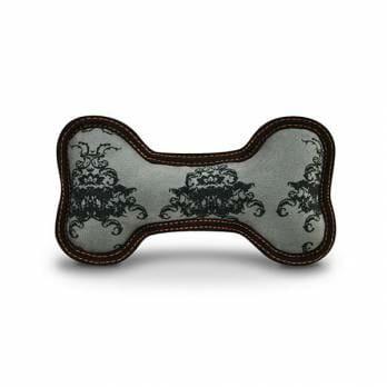 Pet Play – צעצוע בד בצורת עצם ״מלכותי״ – ECO Play Bone Royal Crest